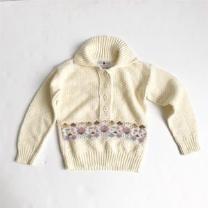 Vintage Raphael creations pullover knit sweater 6X